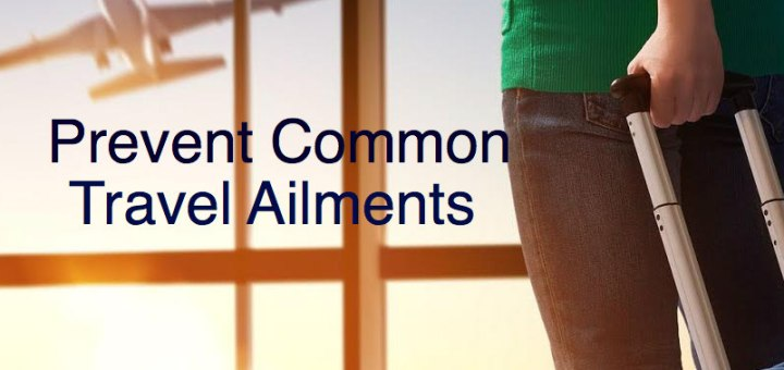 Woman at the airport, Prevent Common Travel Ailments, www.theeducationaltourist.com