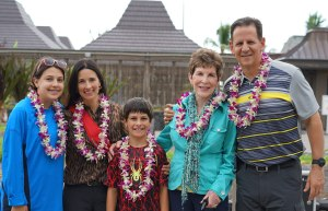 The Educational Tourist family, Hawaii, the BIG island Hawaii, the BIG island