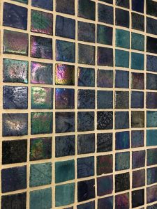 Bathroom tile Renaissance hotel Times Square NYC, Renaissance Hotel Times Square New York, www.theeducationaltourist.com