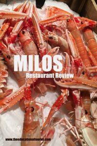 Shrimp, Milos, www.theeducationaltourist.com