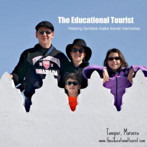 The Educational Tourist Kasbah roof Tangier, La Maison Blanche, www.theeducationaltourist.com