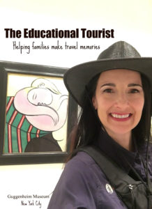 The Educational Tourist and Picasso painting, Guggenheim Tips, www.theeducationaltourist.com