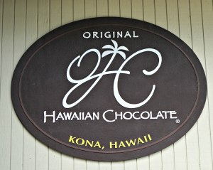 Original Hawaiian Chocolate sign, Original Hawaiian Chocolate, www.theeducationaltourist.com