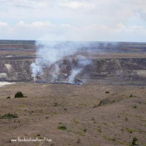 Steam vent in Halema'uma'u crater, Hawaii Volcano National park, www.theeducationaltourist.com