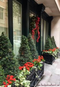 Outdoor Christmas decor at New Orleans' Hotel Monteleone, New Orleans' Christmas decorations, www.theeducationaltourist.com