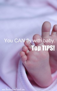 girl Infant toes with pink blanket, Top tips for flying with an infant, www.theeducationaltourist.com