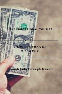 dollar bills, travel on the cheap
