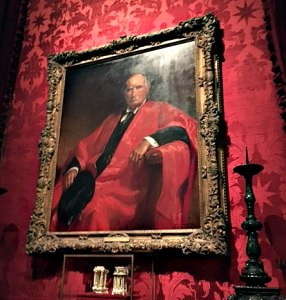 painting of J.P. Morgan in red law robes, Morgan Library, NYC - Visit with KIDS, www.theeducationaltourist.com