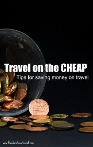 pennies pouring out of a jar, Travel on the Cheap, www.theeducationaltourist.com
