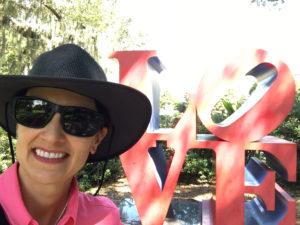 NOMA Sculpture Park LOVE art