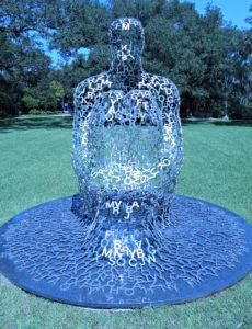 NOMA Sculpture Park, overflow art sculpture