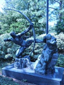 Hercules the Archer by Antoine Bourdelle, NOMA Sculpture Park