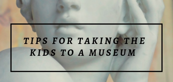 statue of woman, tips for taking kids to museum
