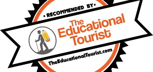 Recommended by The Educational Tourist badge
