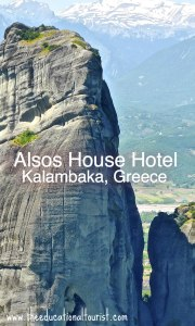 Alsos House Hotel in Kalamabaka, Greece