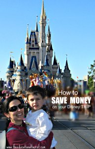 The Educational Tourist and child at Disney, says How to Save money on your Disney trip