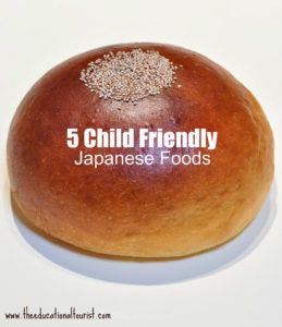 Bread roll. 5 child friendly Japanese foods