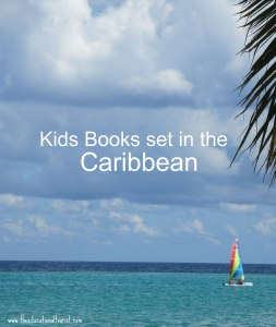 Ocean scene with sailboat, Kids Books set in Caribbean, www.theeducationaltourist.com