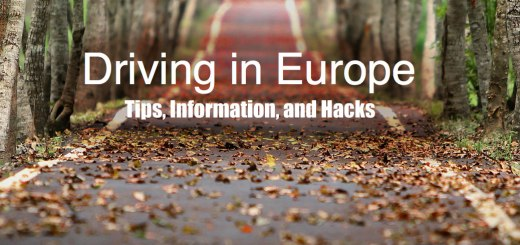 country road , Driving in Europe: Tips, Information, and hacks. www.theeducationaltourist.com