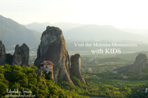 Monastery in Kalamaka, Greece, Visit Meteora monasteries with KIDS, www.theeducationaltourist.com