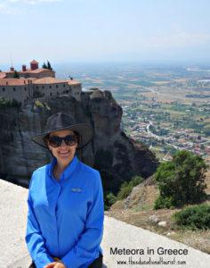 Meteora monastery and The Educational Tourist