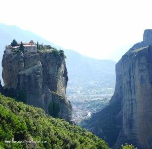 Monastery in Kalambaka Greece