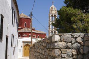Hydra church in Greece
