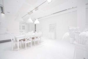 Art exhibit start by Yayoi Kusama - photo from Mark Sherwood,