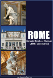 Galleria Borghese museum off the beaten path rome