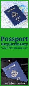 Passport requirements for minors