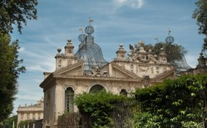 Villa Galleria Borghese Gardens and museum