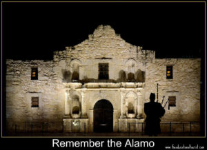 Alamo, places to see in Texas