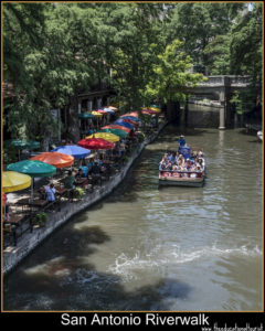 san antonio river walk places to see in Texas