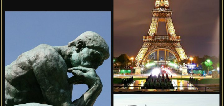 Itinerary for Paris, the thinker