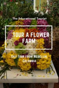 tour a flower farm near medellin