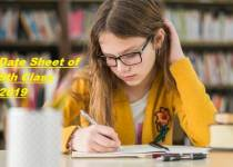 BISE Lahore Board 9th & 10th Class Date Sheet 2019