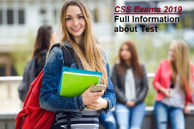 CSS Exams 2019