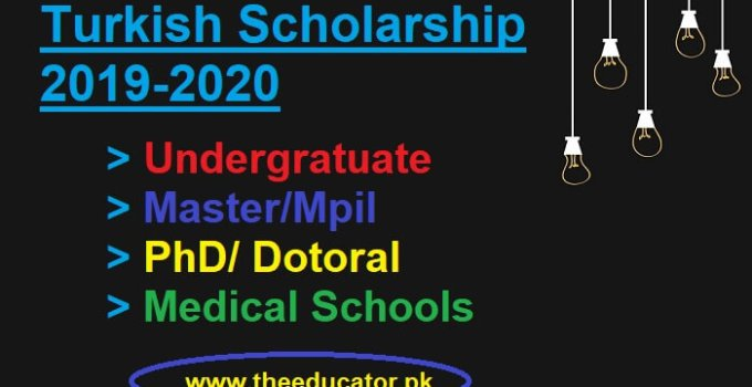 turkey government scholarship 2019