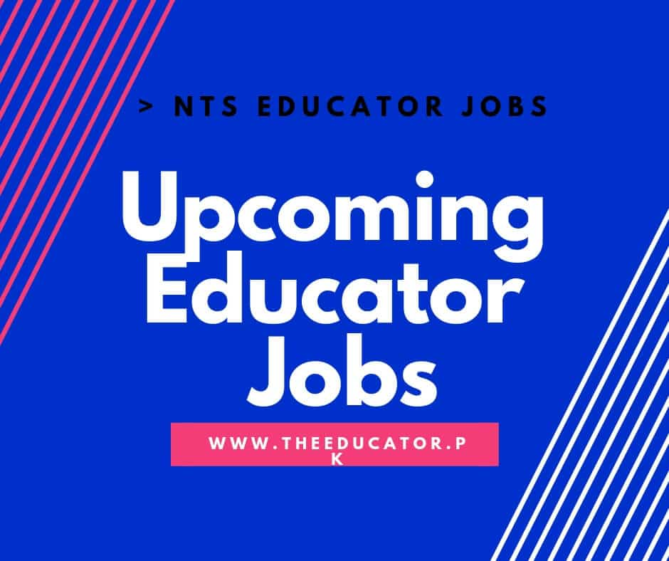 Upcoming Educator Jobs 2018-2019