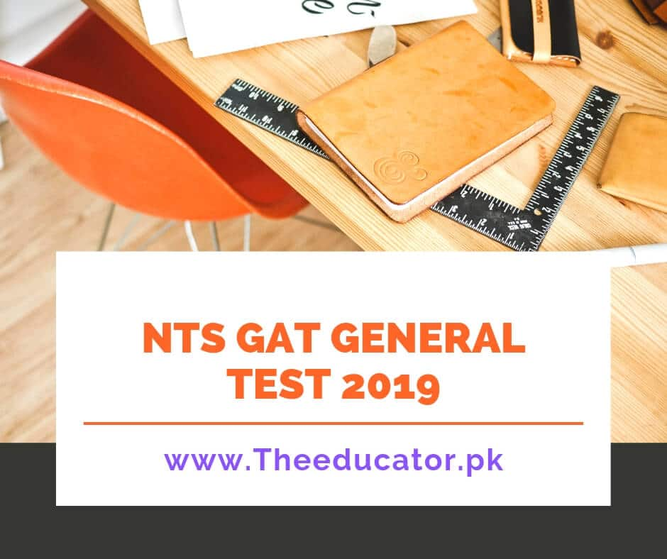 NTS GAT General Test 2019-[Official Update]