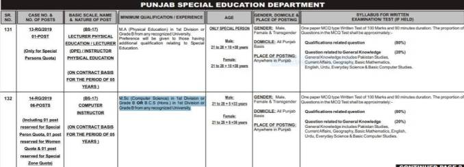 jobs in special education teacher