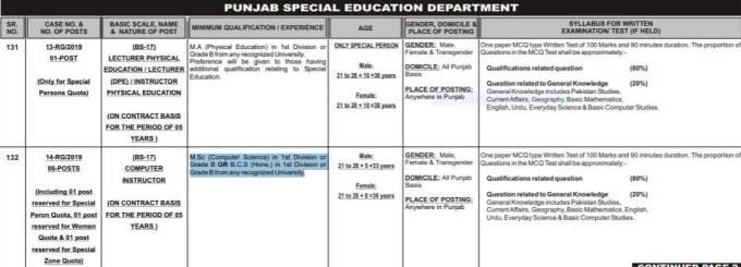 jobs in special education teacher