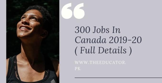 latest Canada Jobs