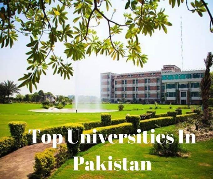 Top Universities In Pakistan