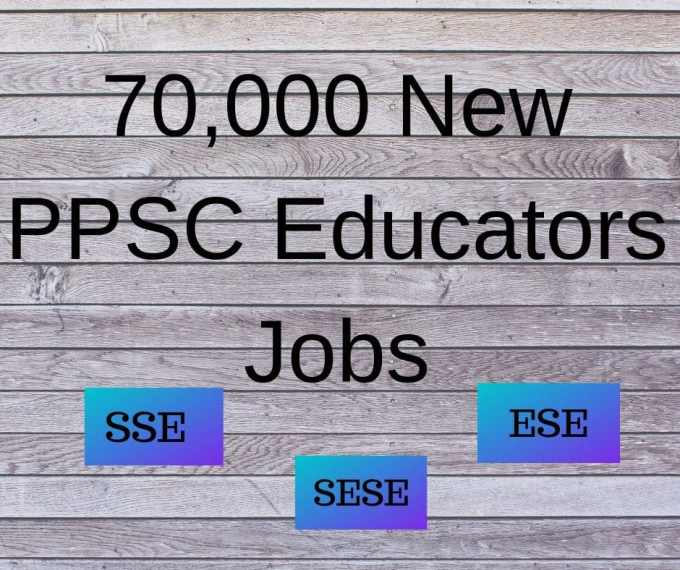 PPSC Educators Jobs