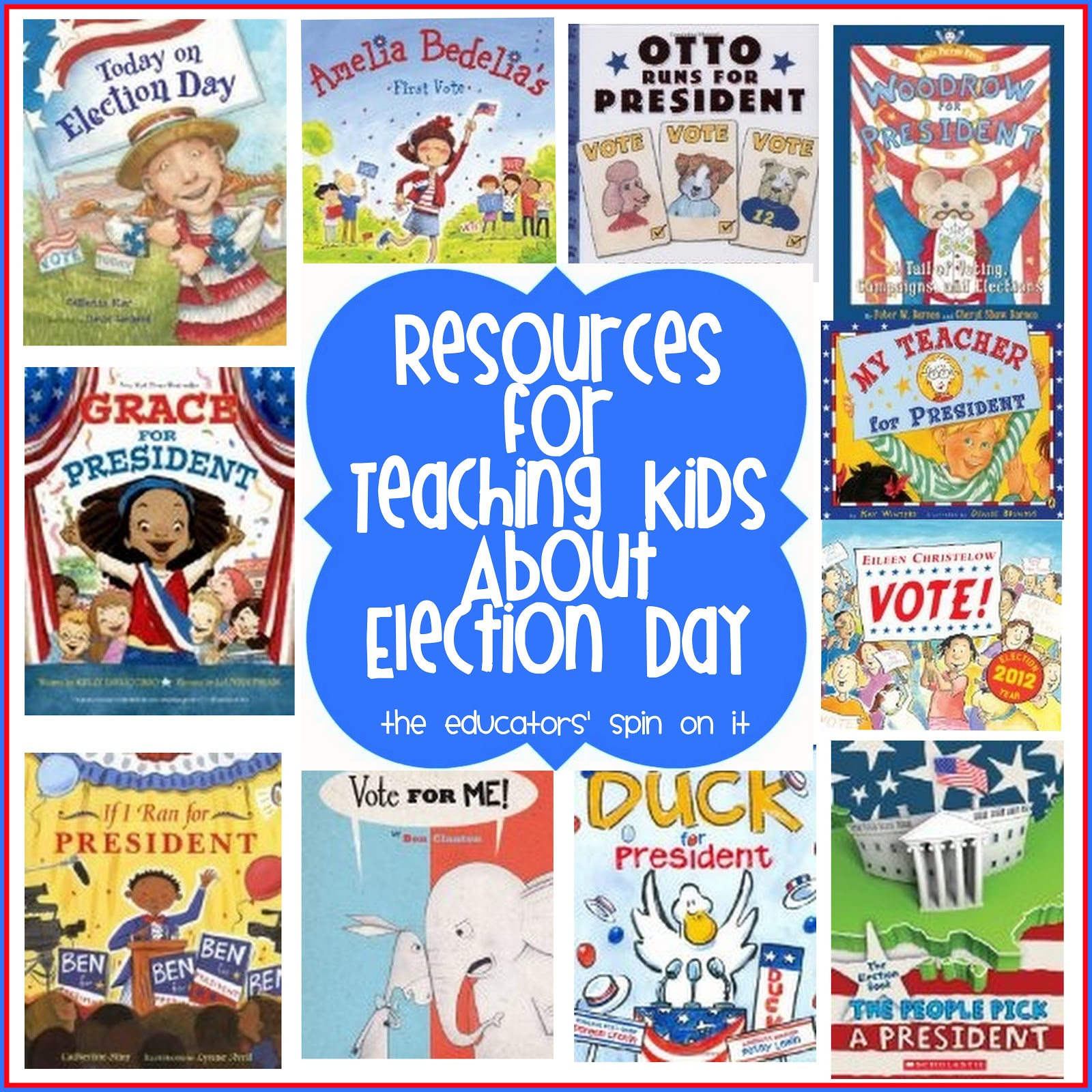 Go Vote Resources For Teaching Kids About Election Day