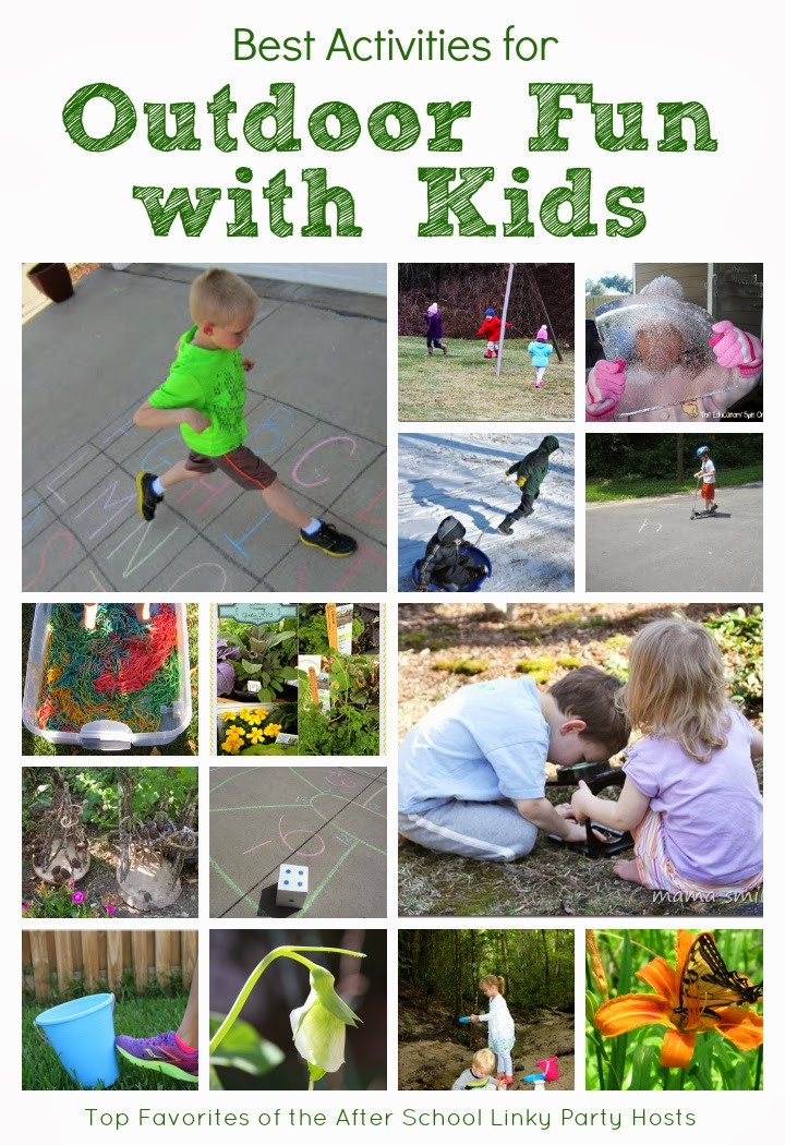 Outdoor Learning Is A Fun Way To Sneak In Learning Activities With Your School Aged Child Unfortunately Theres Not Quite As Much Time For Our Children To