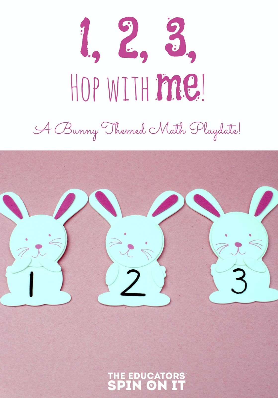 Easter Bunny Math Preschool Playdate