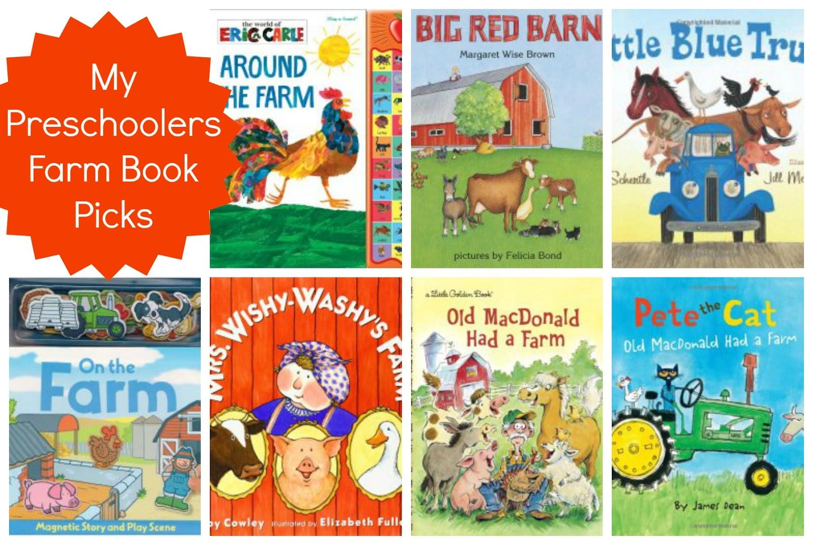 Preschool Activities Farm Theme Make A Mystery Animal Book