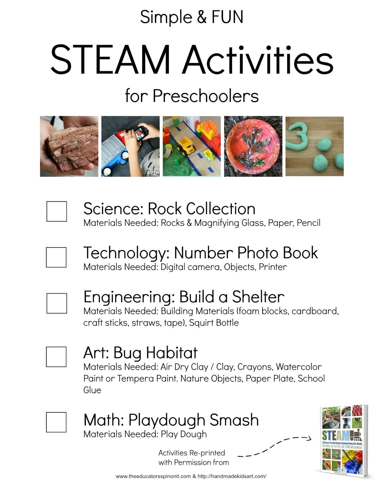 Simple And Fun Steam Activities For Preschoolers